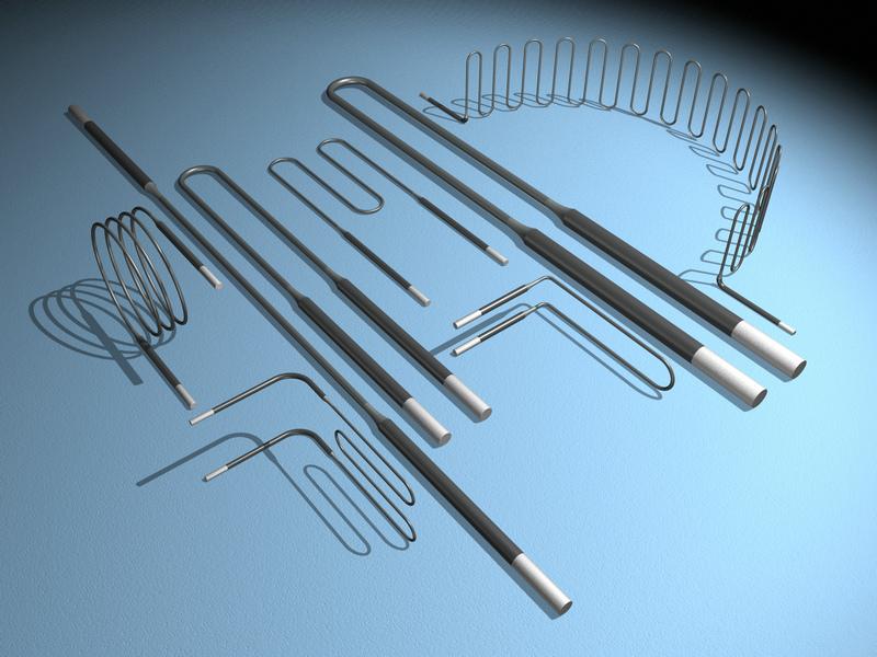 进口电阻丝、硅碳棒、二硅化钼、石墨
